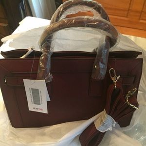 Brand new, still in packaging, Just Fab bag